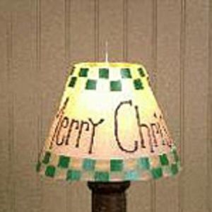 Merry Christmas Candle Shade